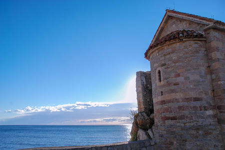 Ancient tower by the sea