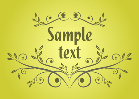 text background Vector