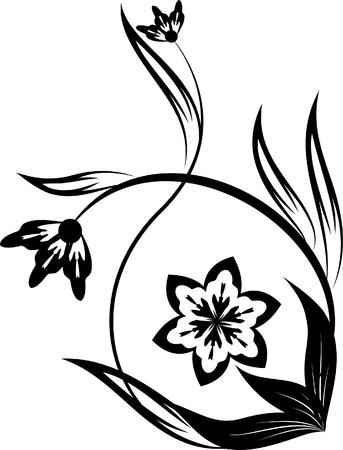 esquineros florales: florales esquina