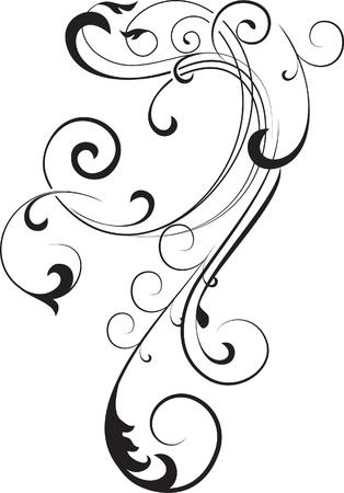 twirl: rama de decoraci�n