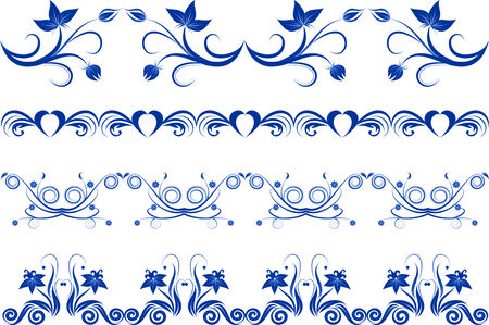 ornament decoration floral Vector
