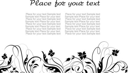 decor for text Stock Vector - 7163056
