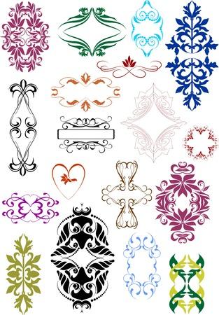 grecas: conjunto de elementos de dise�o de estilo vintage vectorizada