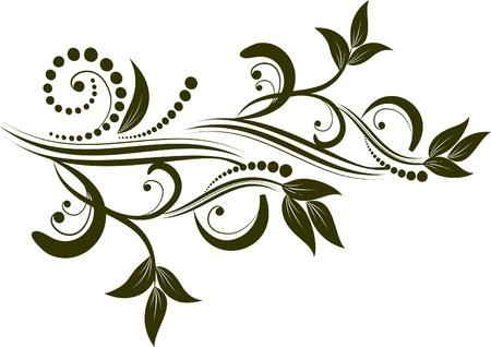 vectorized: decorative branch vectorized