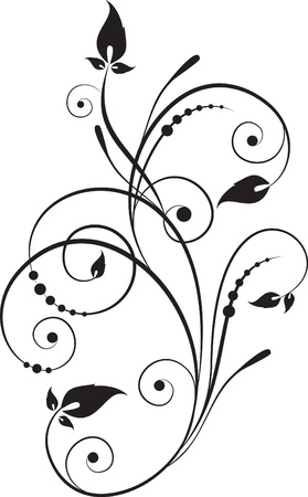 decorative branch Stock Vector - 9375351
