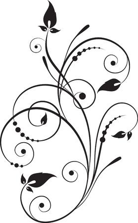 decorative branch Stock Vector - 9375351