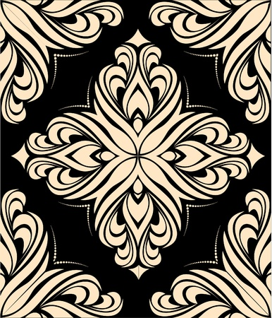 retro design: abstract pattern background