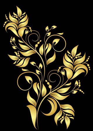 decorative branch Vector