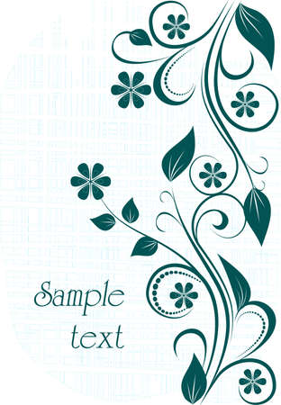 floral background Stock Vector - 9828090