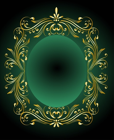 ornamented: decorative frame for design  Illustration