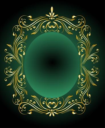 ornamented: decorative frame for design  Illustration