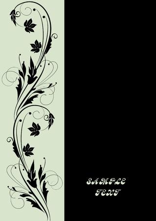 an embroidery: marco decorativo para el dise�o Vectores
