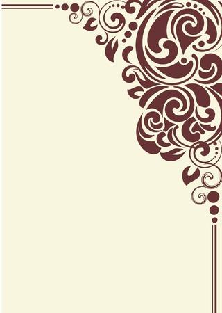 grecas: esquina de decoraci�n para el marco