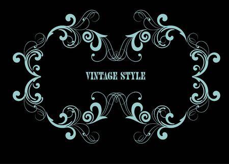adornment: decorative frame for design