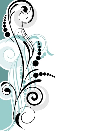 embroidery designs: Abstract curve background for design Illustration