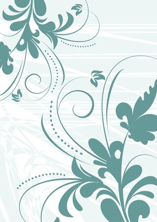 Abstract curve background for design Illustration