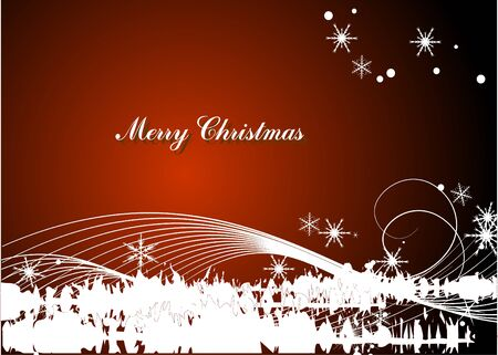 christmas theme background  Vector