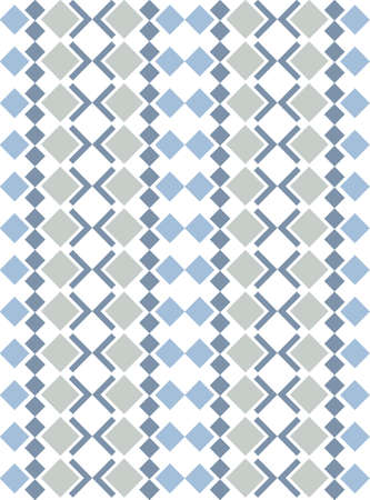 decorative patterns: Seamless patterns with abstract decorative ornament. Illustration