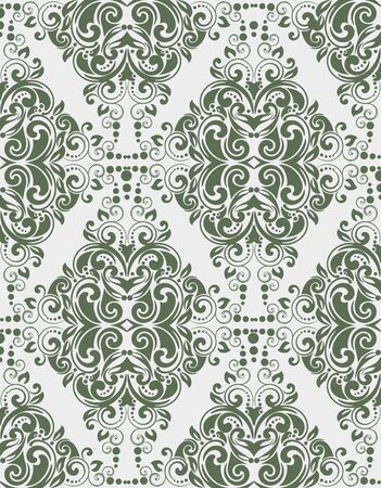 decorative patterns: Seamless patterns with abstract decorative ornament. Vector.
