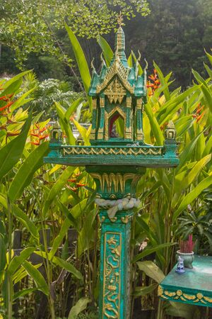 Picture of Thai outdoor spirit house