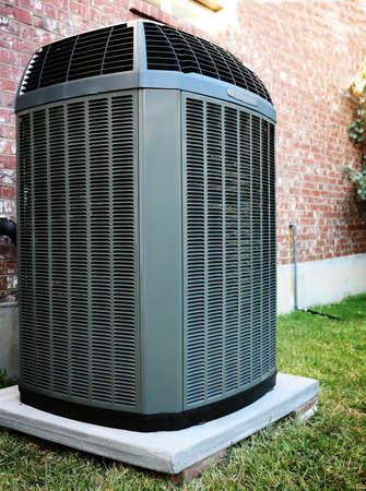 aire acondicionado: Alta eficiencia unidad de aire acondicionado Calentador moderna, energía guardar solución