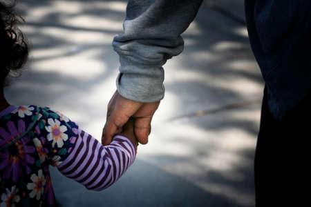 padre e hija: Afroamericana familia: padre e hijo