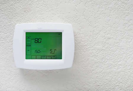 ahorro energetico: Programación eficiente termostato energía Reserva moderna solución