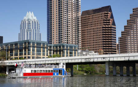 austin: Austin skyline, view from the river