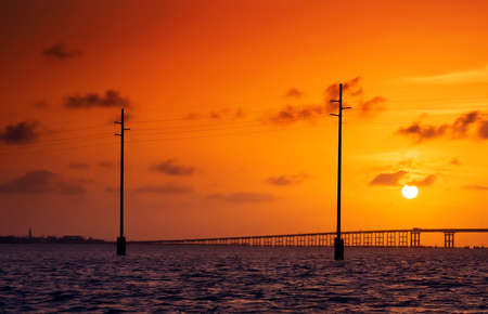 south padre: South Padre Island, sunset