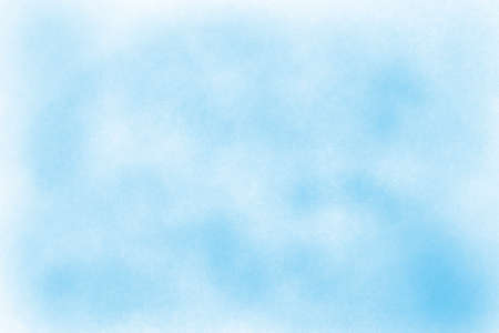Light blue watercolor background hand-drawn with space for text or image Foto de archivo - 133753192