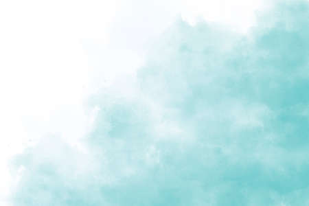 Light blue watercolor background hand-drawn with space for text or image Foto de archivo - 133753208