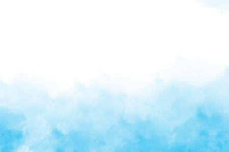 Light blue watercolor background hand-drawn with space for text or image Foto de archivo - 133753213