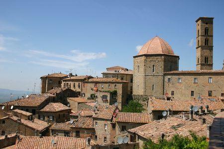volterra: Old Italian town Volterra