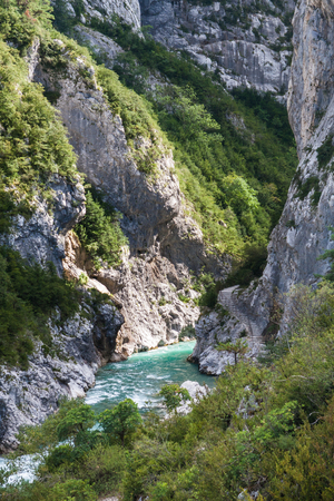 and magnificent: Magnificent view to Verdon Gorge, Provence, France