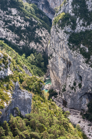 and the magnificent: Magnificent view to Verdon Gorge, Provence, France