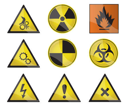 hazard sign: 9 warning signs