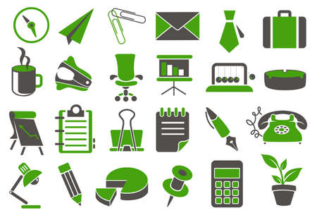 bull pen: A various set of office  web icons
