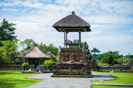 Traditional Balinese Induzm Temple Bali, Indonesia, Travel concept