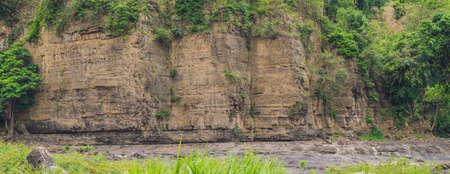 Panorama of a steep cliff, Vetenam, Dalat