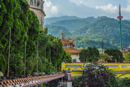 Buddhist temple Kek Lok Si in Penang, Malaysia, Georgetown. Stock Photo