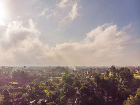 Landscapes in Ubud Bali Indonesia.