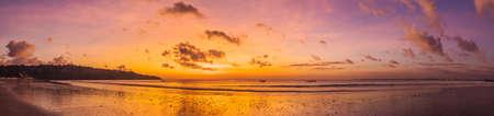 Jimbaran Beach Bali sunset
