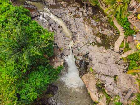 Tegenungan waterfall located in Gianyar regency Bali