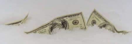 the concept of the dollar frozen at one point, 100 dollars froze. BANNER, LONG FORMAT