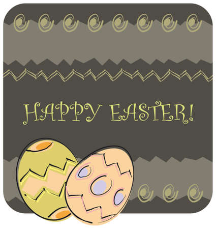 easter greeting Illustration
