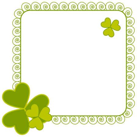 march 17th: St. Patricks Day design Illustration