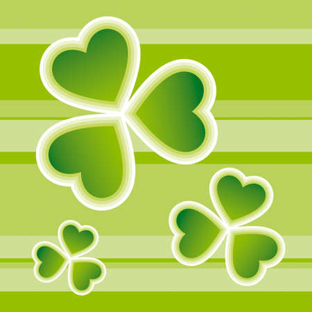leaved: St. Patricks Day design Illustration