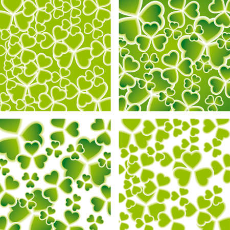 St. Patricks Day backgrounds Vector