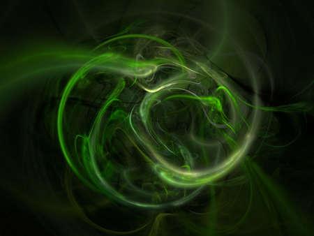 fractal smoke Stock Photo