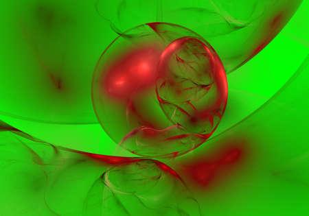 cristmas fractal photo